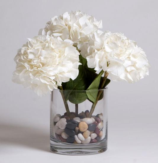 Flowers in a vase with rock floral vase fillers We have a huge selection of
