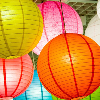 paper lamps Our paper lantern lights are perfect for a funky party or a classy soiree mix and match your paper lights by choosing from our carnival of colors and sizes.