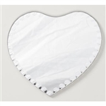 Heart Mirror W/ Scalloped Edges - 6""