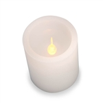 LED Pillar Candle ,White ,6 inches - Ability to switch colors!