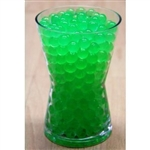 Water Absorbent Marbles, Water Beads, Green - 1 Pound Bag