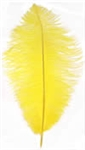 "17-21"" Ostrich Feathers - Yellow (1/2 Pound)"