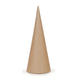 Paper Mache Cone With Open Bottom - 10.63 x 4 inches