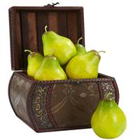 Faux Pear (Set of 6)