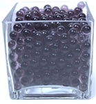 Round Glass Marbles - Lilac (4.4lb bag)