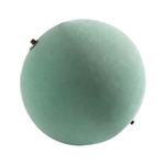 "16"" OASIS® Floral Foam Sphere, 1/cs"