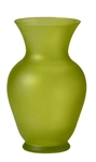 "11"" Bouquet Vase, Apple Green Matte, 9/case"