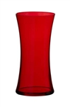 Gathering Vase, Translucent Red, 12/case