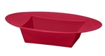ESSENTIALS™ Oval Bowl, Red, 24/case