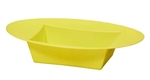 ESSENTIALS™ Oval Bowl, Yellow, 24/case