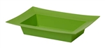 ESSENTIALS™ Rectangle Bowl, Apple Green, 24/case