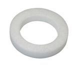 "10"" White STYROFOAM® Wreath, 24/case"