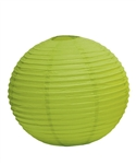 "12"" Paper Lantern (Pack of 24) - Candy Apple Green"
